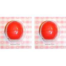 EOS Smooth Sphere Lip Balm -Summer Fruit Duo (0.25 oz. x 2)