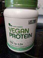 Vegan protein powder Life Time Fitness