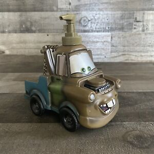 Disney Pixar Cars Mater Soap/Lotion Dispenser Tow Truck New Never Used