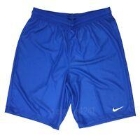 """New Nike Digital 18 Soccer Training Short 9"""" Men's Medium Blue 921075"""
