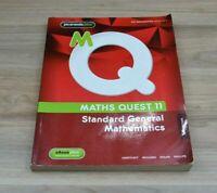 JACARANDA Maths Quest 11 Standard General Mathematics Textbook - 2nd Edition
