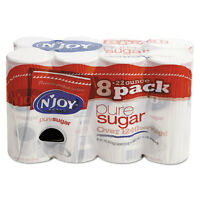 N'Joy Pure Sugar Cane 22 oz Canisters 8 per Carton 827820