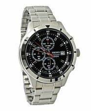 Seiko Chronograph SKS561 Black Dial Stainless Steel Men's Watch