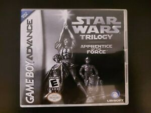 Nintendo Gameboy Advance Star Wars Trilogy Apprentice Of The Force GBA Genuine