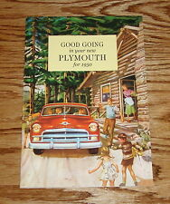 1950 Plymouth Owners Operators Manual 50