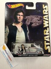 Star Wars * 1985 Astro Van * Han Solo * 2015 Hot Wheels Pop Culture Case E *Y40