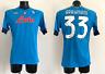 Rrahmani Napoli maglia preparata Europa League 2020 2021 match worn issued shirt