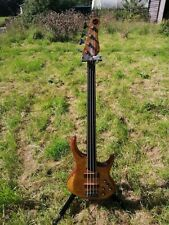 MTD Kingston Z Fretless Bass 4 string with active pickups and gig bag