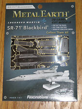 SR-71 Blackbird Metal Earth 3D Laser Cut Metal Model Fascinations Lockheed