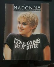 MADONNA THE ILLUSTRATED BIOGRAPHY BY DEBBI VOLLER