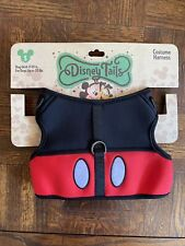 Disney Parks Tails Mickey Mouse Costume Harness for Dog Small New