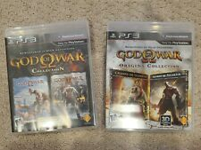 PS3 God of War Collection and Origins Collection Two Games