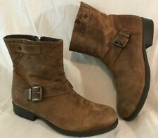 Jones Bootmaker Brown Ankle Leather Lovely Boots Size 36 (339Q)