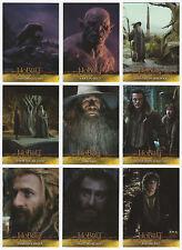 2015 Hobbit Desolation of Smaug 72 Card Base Set + Empty Hobby Box & Wrappers