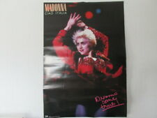Madonna Ciao Italia Japan Promo Double Faces Poster from Warner Pioneer