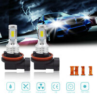 H11 H8 H9 100W LED White Fog Light Conversion Bulbs High Power 6000K Headlight