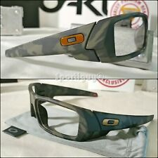 New Oakley Gascan Olive Camo Frame | OO9014-5160 w/ New Carbon Microbag