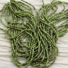 RARE!!! 9/0  3Cut Chartreuse Picasso Czech seed beads - 1hank - 10/18""