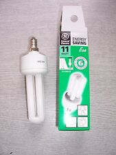 11W Energy Saving Bulb. E14. Colour: 827. General Electric DBX. TWO PACK