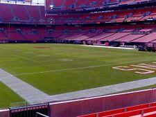 4 Cleveland Browns Football Tickets vs Denver Broncos ROW 5 Lower Thursday 10/21