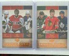 2007-08 UD 2x YoungGuns Checklist Setoguchi Toews Tlusty Kane Price Johnson