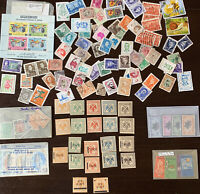 MIDDLE EAST STAMP LOT ALBANIA, DUBAI, JORDAN, BAHAWALPUR, SAUDI ARABIA ETC.