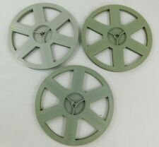 Trio of 600 Foot Automatic Super 8mm Take Up Reels x 3