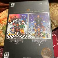 Kingdom Hearts Collector's Pack HD 1.5 + 2.5 Remix Limited Sony PlayStation 3