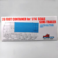 1:14 20FT Container parts For Tamiya Scania Actros Trailer Tractor RC Model car