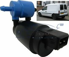 Front & Rear Windscreen Washer Pump Vauxhall Combo 2001 > 2011 REAR WIPERS