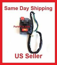 Start Headlight Kill Switch Assembly for Kazuma Falcon Panda 250cc 150 110cc ATV