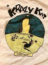 Vintage NOS Krazy Kat T-shirt c. KFS 1986 BRIGHT IDEAS UNLIMITED SFCA Small
