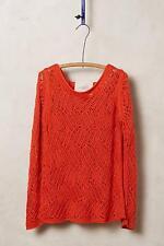 NIP Anthropologie Amanecer Pullover Sz M Medium New Sweater Angel of the North