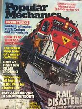 9 MONTHS OF 1979 POPULAR MECHANICS MAGAZINE MISSING MAR, APR, AND JULY (O7-6)