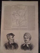 The Search Expedition For Dr Livingstone In Africa 1806 Harper's Weekly 1872 #3