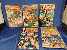 Marvel comic book lot Nomad #8 10 x factor #73 Wolverine #84 Weapon X #82 art