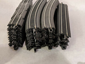 Lot 35 Bachmann EZ track Straight Curved POOR CONDITION *READ* Steel