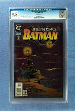 DETECTIVE COMICS #687 CGC 9.8 NM/MINT WHITE PAGES BATMAN 1995 DC COMICS