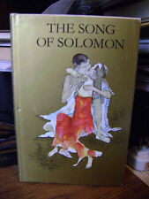 THE SONG OF SOLOMON,BY: SIMON & SCHUSTER HB/DJ 1971