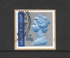 GREAT BRITAIN 2015 MACHIN SPECIAL DELIVERY 100g M15L SINGLE STAMP SG U29854 USED