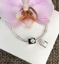 Pandora Camera Charm, Sentimental Snapshots, Bracelet Bead, Brand New,#791709CZ