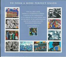 To Form A More Perfect Union, Martin Luther King, Mint Sheet, 10 $.37 Stamps