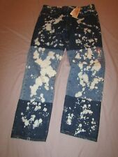 mens levi's child of frankenstein jeans 34x32 nwt $69.50 bleached 541 athletic