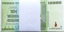 25/ 10 TRILLION ZIMBABWE DOLLAR MONEY CURRENCY.AU* USA SELLER*