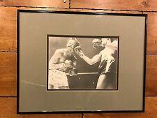 Kid Galivan 1953 54 Signed Boxing Matted Custom Photo 14 x 18 Coa