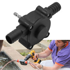 Hand Electric Drill Drive Self Priming Pump Oil Fluid Water Transfer Pump GL