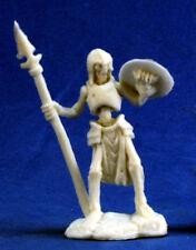 1 x SQUELETTE GUARDIAN LANCE - BONES REAPER figurine miniature jdr rpg skeleton