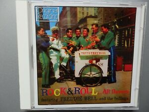 "ROCK N ROLL CD ""ALL FLAVORS"" FREDDIE BELL AND THE BELLBOYS"