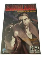 Gangland (PC, 2004) by Whiptail- Mobster RTS/RPG/SIM Game w/ Manual Big Box M17+
