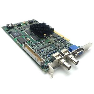 Matrox Orion ORI-PCI/RGB Rev. A Video Capture Card/Frame Grabber PCI VGA 2x BNC